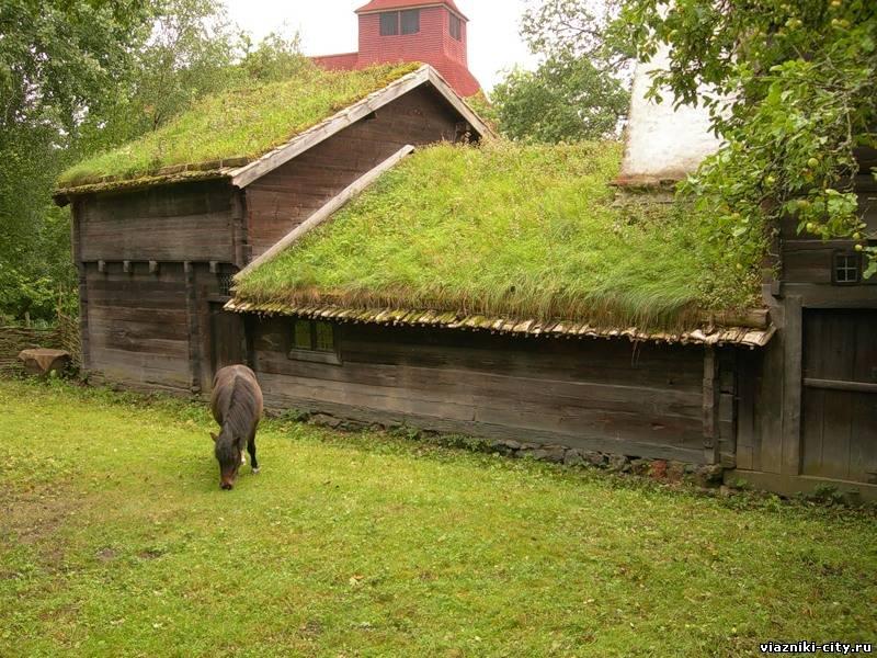 Зеленая крыша дома как сделать